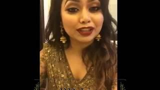 Ashna Habib Bhabna new Live Video