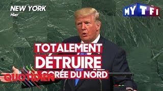 Premier discours de Donald Trump devant les Nations Unies - Quotidien du 20 septembre