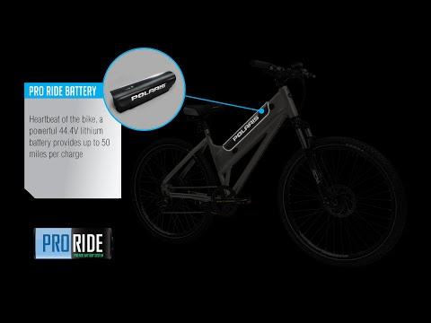 ProRide™ Lithium Battery, POLARIS® Electric Bikes