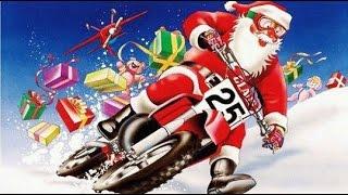 Santa Claus Mx Motocross Crash Christmas   Jacobo Viqueira