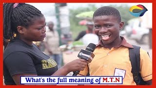 WHAT DOES MTN STAND FOR? Street Quiz | Funny Videos
