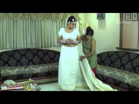How to wear Saree   Bhartnatyam Saree