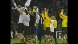 لقطة لأحدى مباريات دورتموند في الدوري الألماني 2002 م