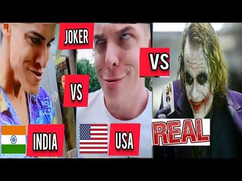 Rizxtar usa joker usa joker VS indian joker VS real joker Tiktok joker Inquiry TV