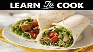 How to Make Quick & Easy Snack Wraps