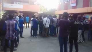 soorya's MASS Mass Releasing day rush @ theater(Firstday celebrations)