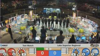 2017 FRC Lake Superior Regional Competition