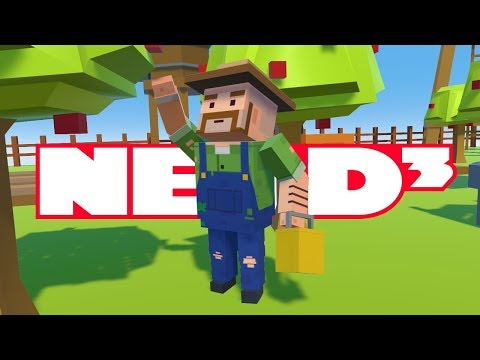 Nerd³ builds a Tiny Town in VR in Tiny Town VR