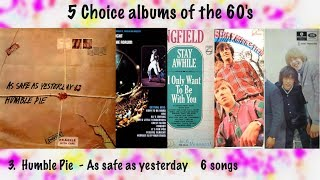 Outstanding albums of the 60's -