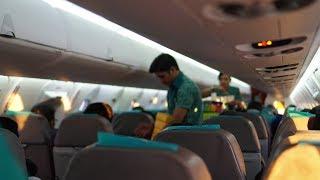 SERASA NAIK PRIVATE JET!?!?! Review Garuda Bombardier CRJ 1000