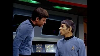 Spock - McCoy banter and friendship Part 3