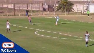 Rodrigo Cervetti convirtió un gol en contra insólito en Comunicaciones-Atlanta
