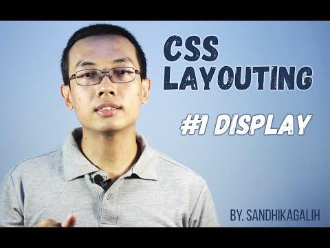 CSS Layouting - #1 Display