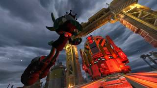 Sonic Forces Chemical Plant Gameplay