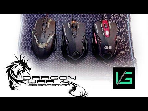 Dragonwar Mouse   Unboxing and Comparison