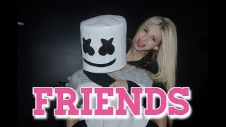Marshmello & Anne-Marie - FRIENDS (Music Video by Madi Lee)