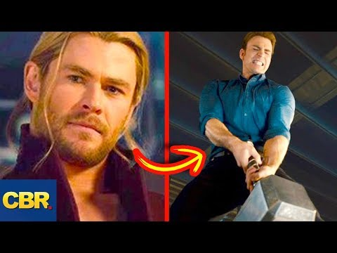 10 Superhero Characters Who've Lifted Thor's Hammer