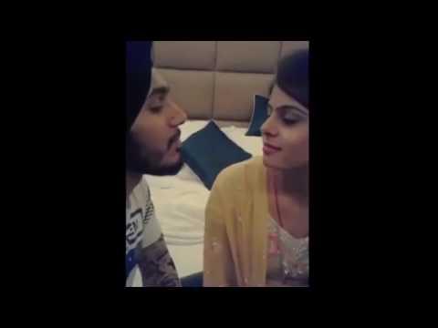 Punjabi lip kiss    cute lip kiss    desi girl lip kiss