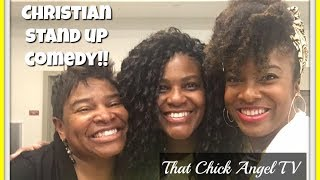 Christian Stand Up Comedian 😂  That Chick Angel TV
