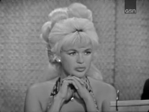 What s My Line Jayne Mansfield; Martin Gabel panel May 24 1964