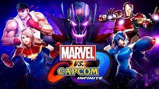 Marvel vs. Capcom: Infinite 劇情模式 Part 1 - 童年大亂鬥!!