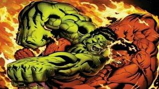 Hullk vs Hulk Vermelho