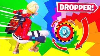 VBUCKS Dropper CHALLENGE *NEW* Game Mode in Fortnite Battle Royale