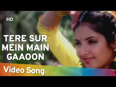 Xxx Mp4 Tere Sur Mein Main Gaoon HD Geet Songs Divya Bharti Avinash Wadhavan Alka Yagnik 3gp Sex