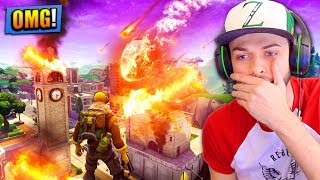 TILTED TOWERS will be *DESTROYED* by a METEOR in Fortnite: Battle Royale!