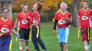 My son CHEATS at FOOTBALL!!