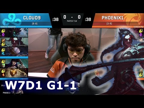Xxx Mp4 Cloud 9 Vs Phoenix1 Game 1 S7 NA LCS Summer 2017 Week 7 Day 1 C9 Vs P1 G1 W7D1 3gp Sex