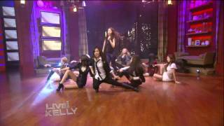 [HD] SNSD/Girls Generation - The Boys + Interview @ Live With Kelly