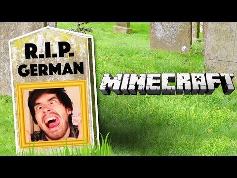 LA MUERTE DE GERMAN Minecraft 8 lele