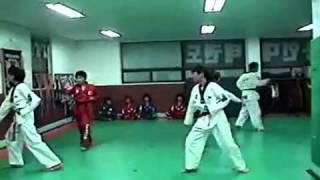 BTS JUNGKOOK LEARNING TAEKWONDO