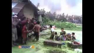 Video eksklusif serangan puak Rakhine di Myanmar