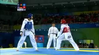 Taekwondo best kicks beijing 2008 (with music)