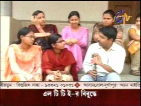Manab Guha in Nistarini Girls College, Purulia for E TV Bangla 16 04 09