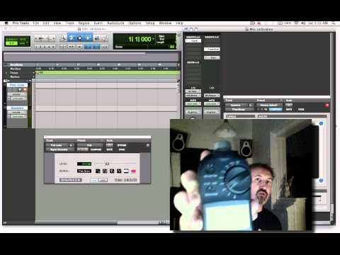 Speaker calibration for film tv sound mixing
