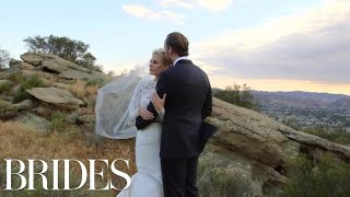 Morgan Stewart, Brendan Fitzpatrick Wedding Video | BRIDES