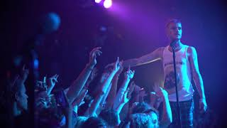 lil peep 'star shopping' + 'beamer boy' live in seattle (cowys tour)