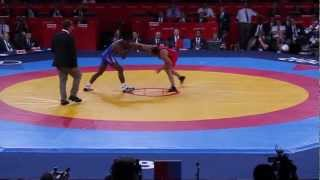 London 2012 Olympic wrestling - USA Vs IRAN - Final Gold Medal event