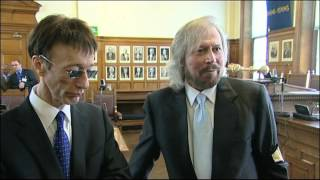 Barry and Robin Gibb remember their Isle of Man roots