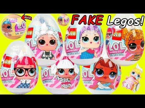 Xxx Mp4 Lil Punk Boi LOL Surprise Dolls Sisters Open Fake LEGOS Eggs Wedding With JOJO SIWA Married 3gp Sex