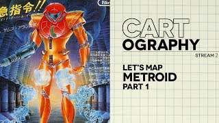 Cart-ography #02: Let's map Metroid, Pt. 1