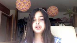 9 year old white girl who can really scat!