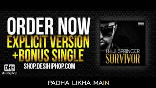 Devil Inside - Haji Springer ft Bohemia | Lyrics Video | DesiHipHop Inc
