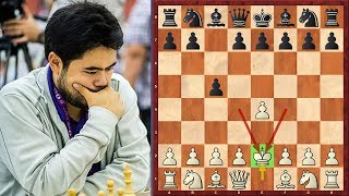 OMG! Nakamura Moves His King On Move 2