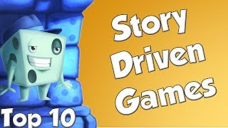 Top 10 Story Driven Games - With Tom Vasel