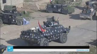 القوات العراقية تتوغل جنوبا باتجاه مطار الموصل