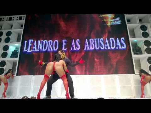Leandro E As Abusadas Mega Pederastia DVD Furacão 2000 Infinity Power Barra Music